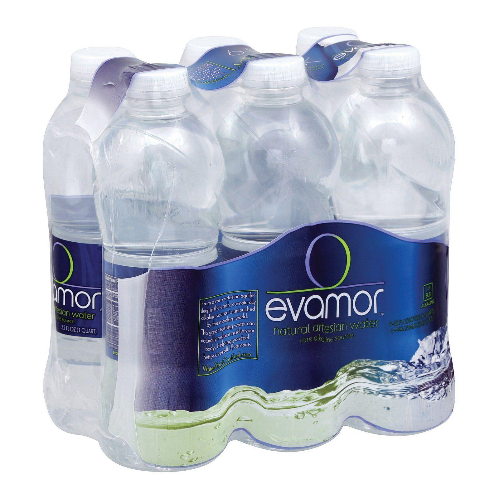 Evamor Naturally Alkaline Artesian Water - Natural ...