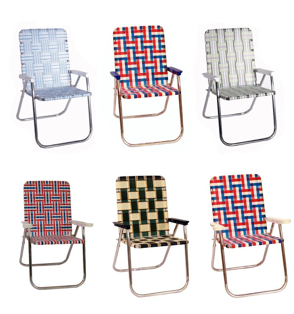 Old School Lawn Chairs, Definitely Need A Set