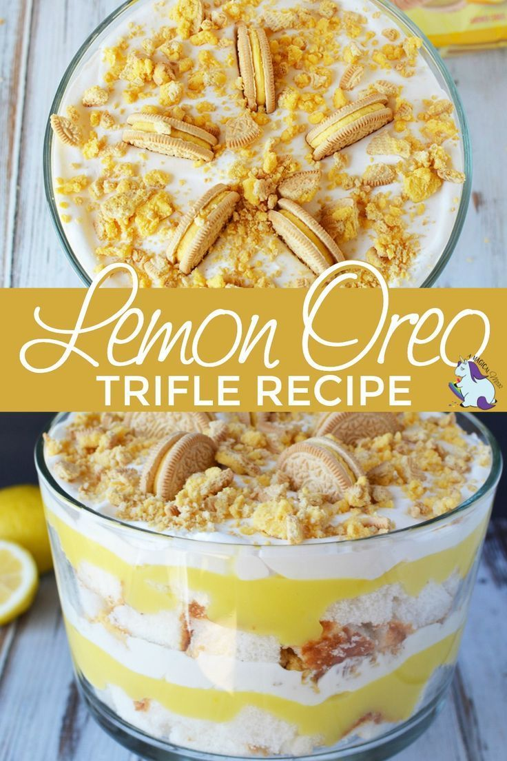 Photo of Easy Lemon Trifle Recipe