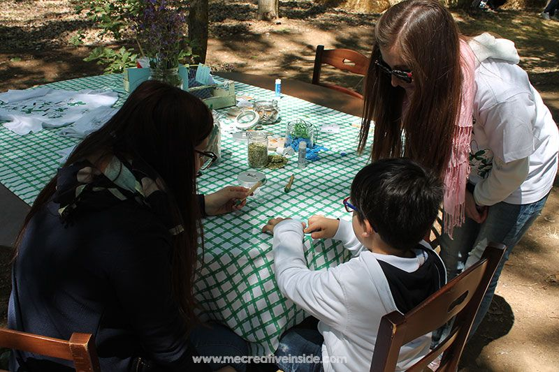 festa di primavera agriturismo sacova tutorial biglietto card fiore di loto pop up mecreativeinside