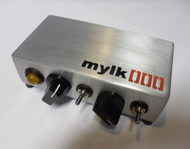 mylk[386]amp No 3 Mini DIY Guitar Amplifier circuit | Things To Make