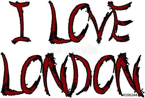 """""""I Love London"""" creato da morgan capasso"""