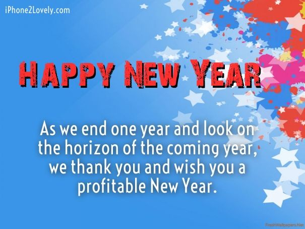 Business new year greetings happy new year 2018 wishes quotes business new year greetings m4hsunfo
