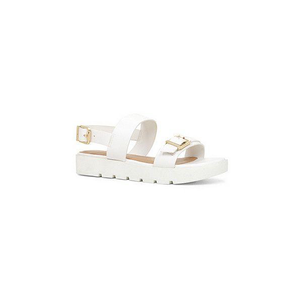 Sandals, Aldo sandals, White sandals