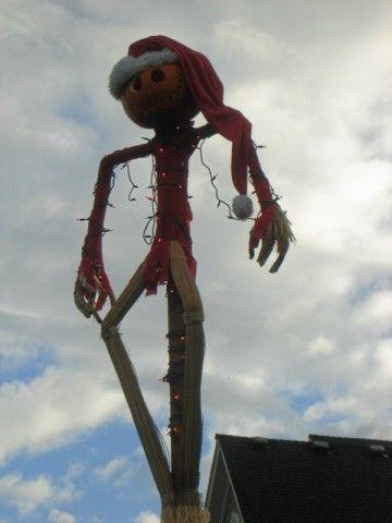 Nightmare Before Christmas Jack Skellington Scarecrow | Jack ...