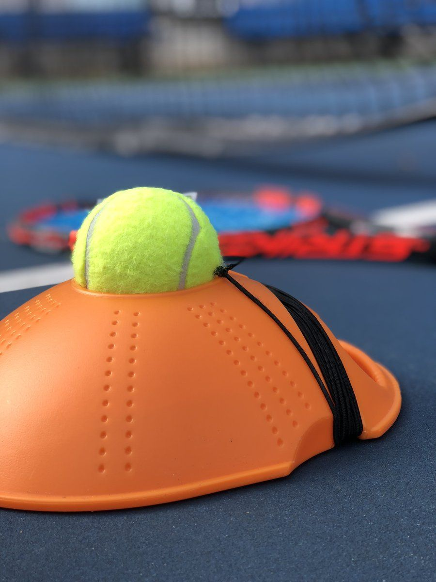50 Off While Quantities Last The Tennis Trainer Is The Perfect Portable Tennis Training Aid Simply Hit The Ball And It Comes Tennis Tennis Trainer Trainers