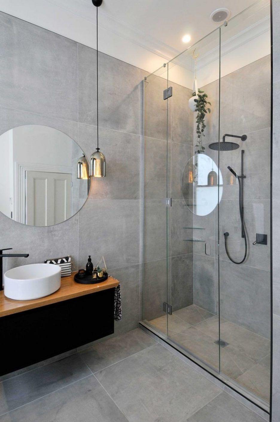 grau badezimmer trends sind ein must see  badezimmer
