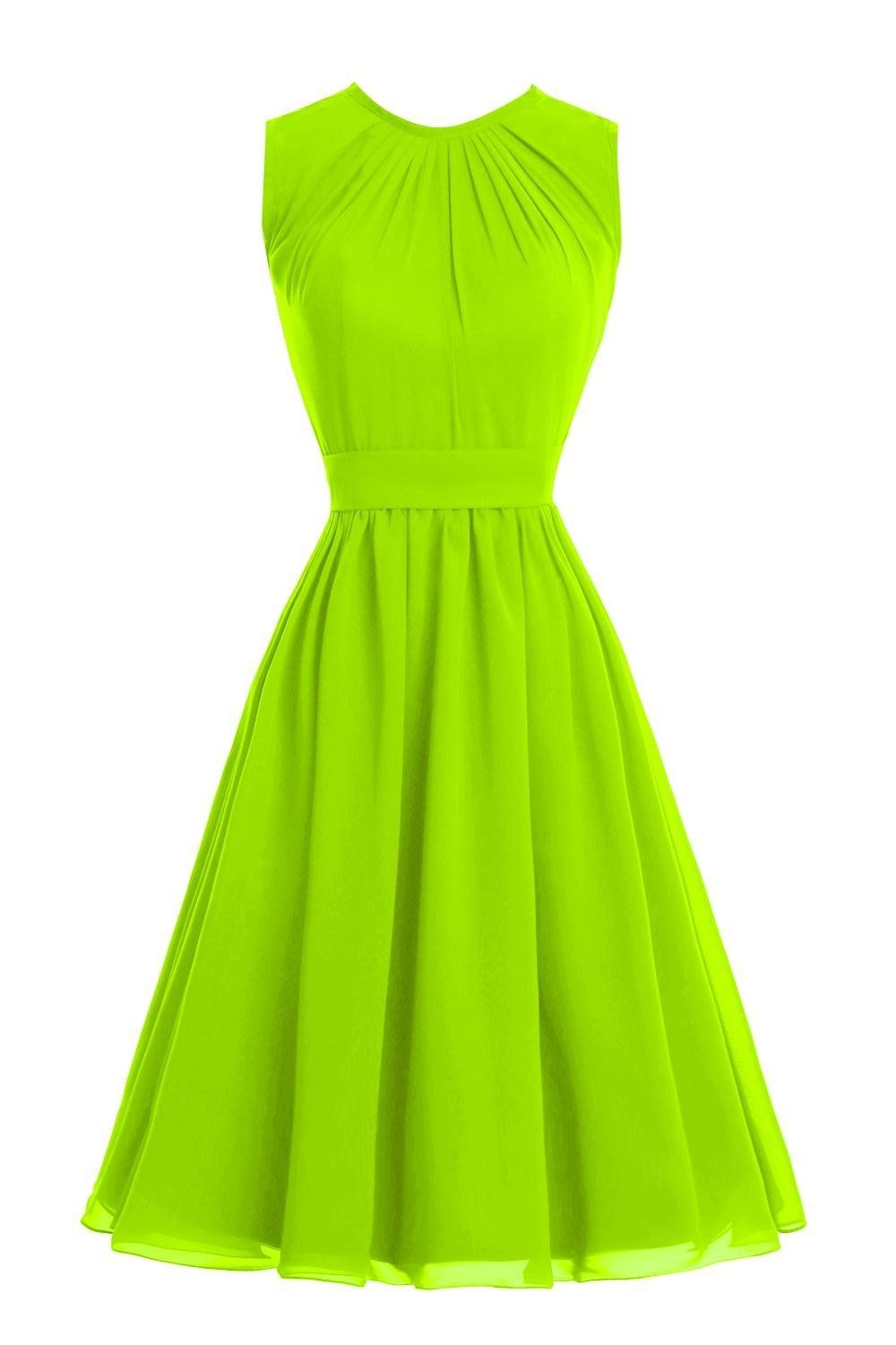 Bess bridal womens short juniors bridesmaid prom dress with bow