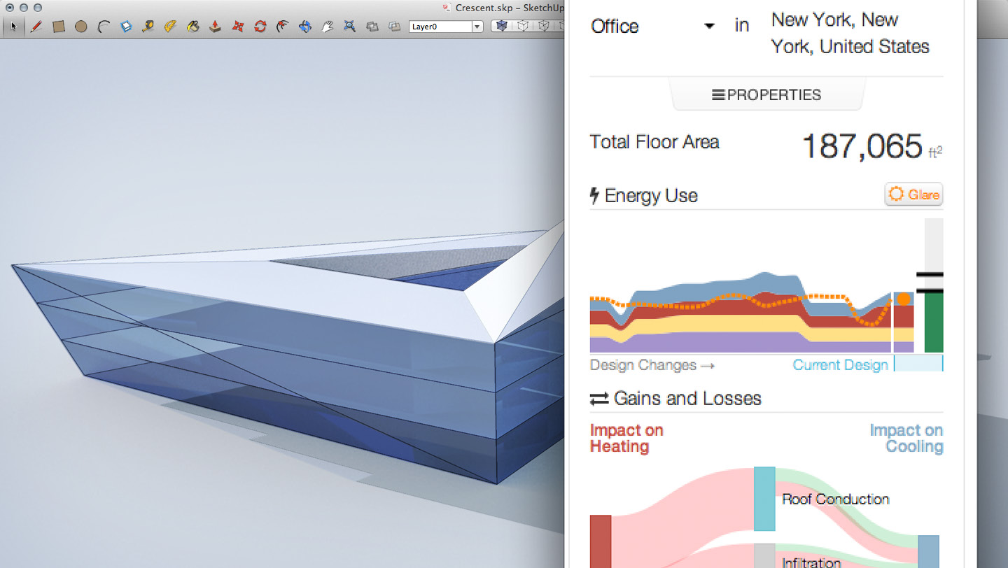 Product Sefaira Cool Roof Energy Use Thermal Comfort