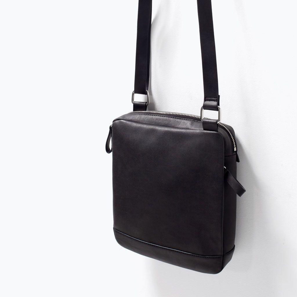 Mini Messenger Bag Bags Man Zara United States Ledertasche Herren Taschen Manner Taschen
