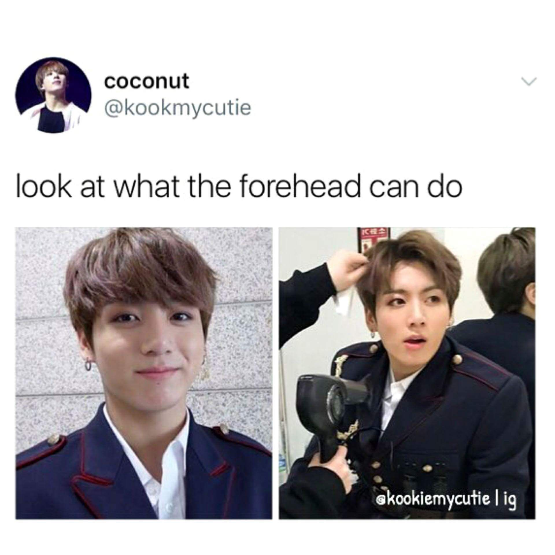I wish my forehead can do that | BTS in 2019 | Bts, Bts