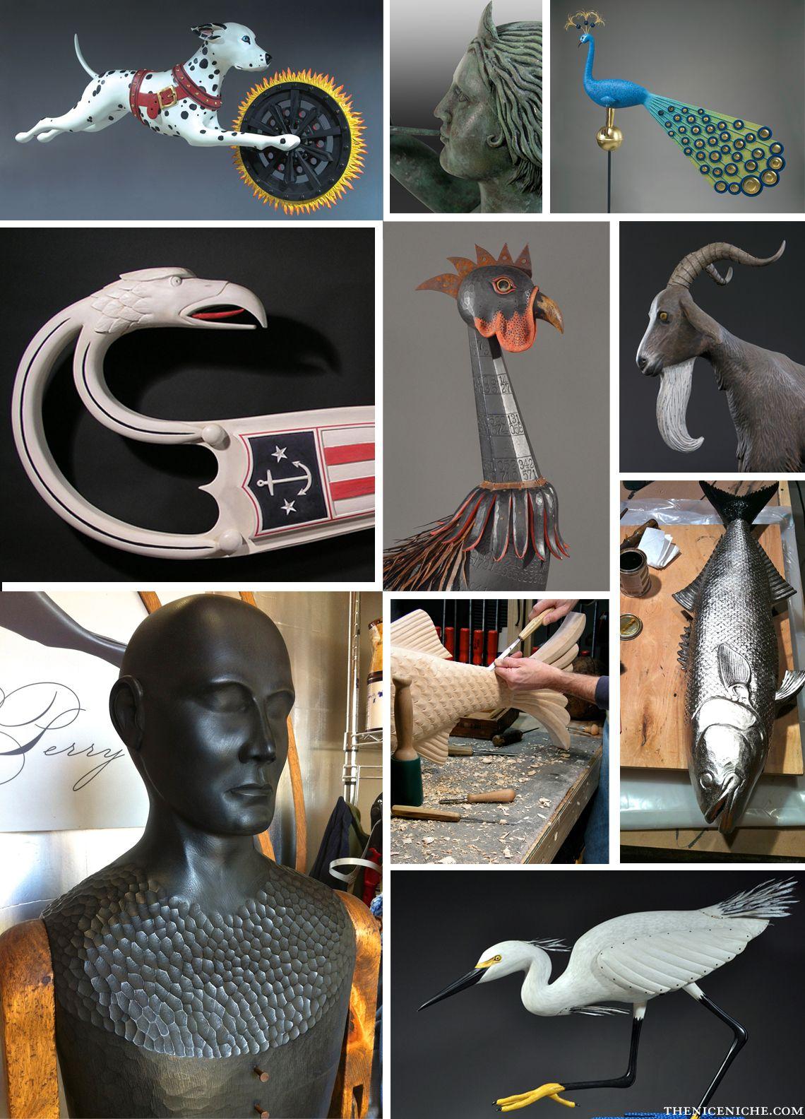 Mark A. Perry Nice Niche Feature, Redefining Folk Art - @Mark A. Perry Sculptor #folkart #americana #americanart #usa #sculpture