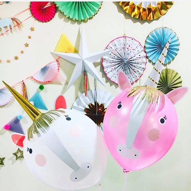 Our Unicorn Balloon Kit Is A Great Activity For Party And Perfect Favor Thank