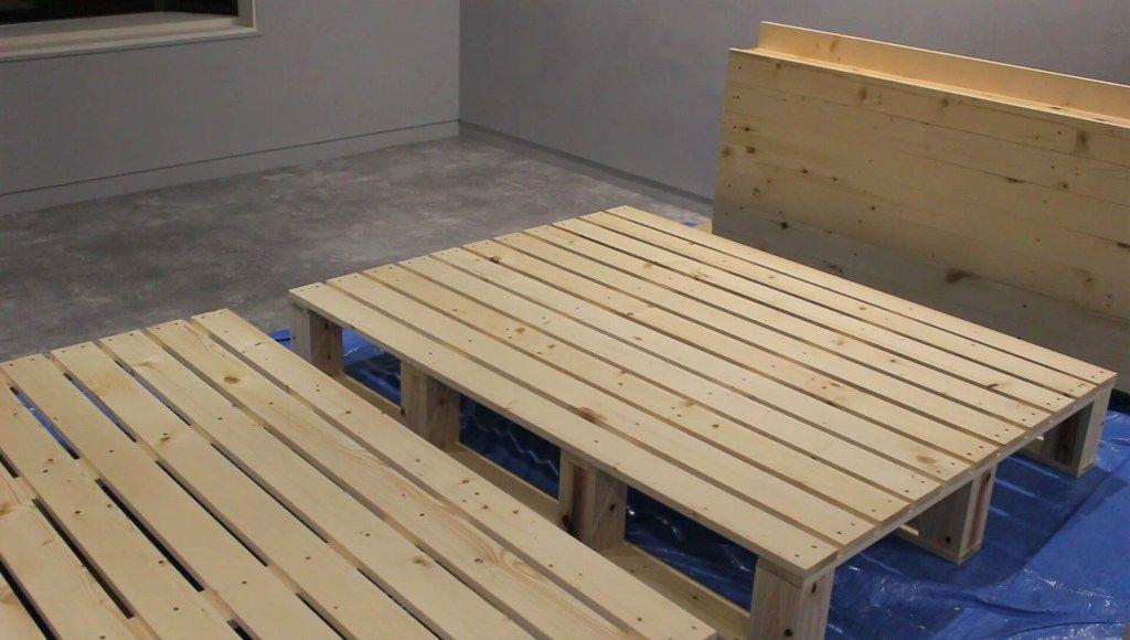 パレットベッドの作り方 Spf材と角材を組み立てて自作する Vol 35