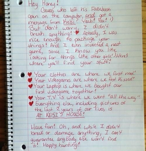 Unique Break-up Letter Goes Viral | Her Campus
