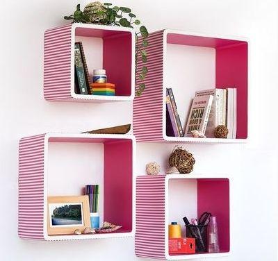 dekoratif-raf-modelleri-40 Yatak odası