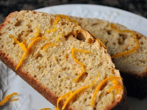 Recipe orange almond bread eat drink sacramentos food wine food recipe orange almond bread forumfinder Image collections