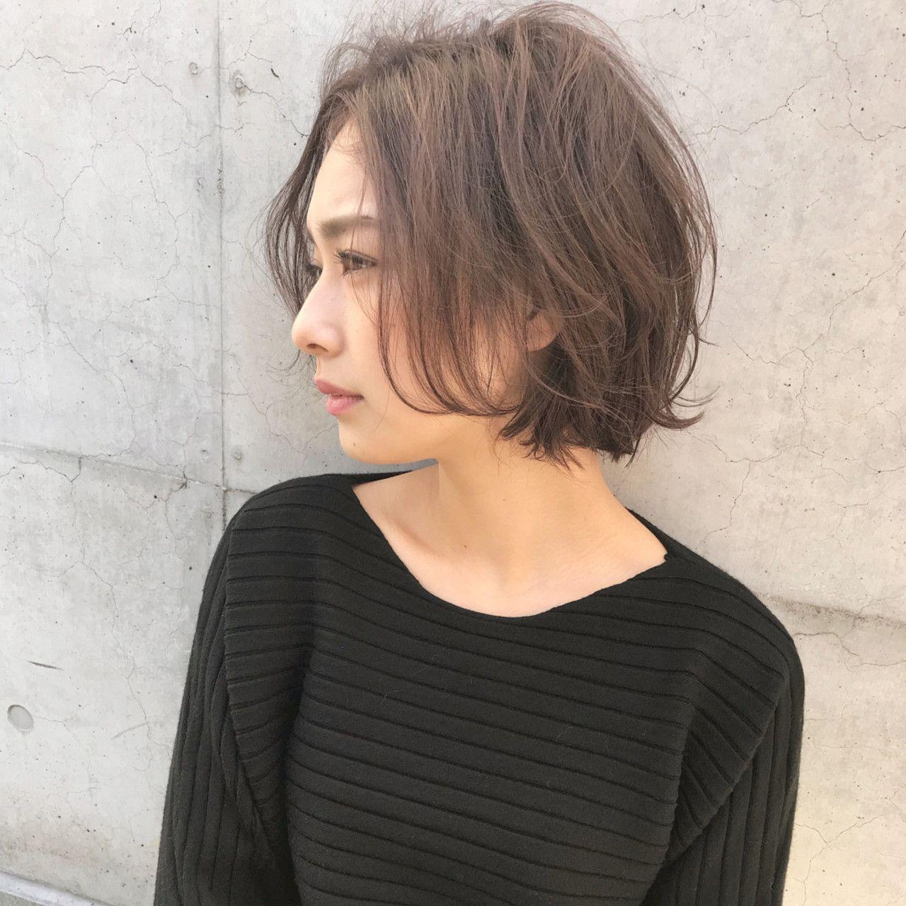 ナチュラル 外国人風 フェミニン 黒髪××石川 琴允×92947【HAIR】
