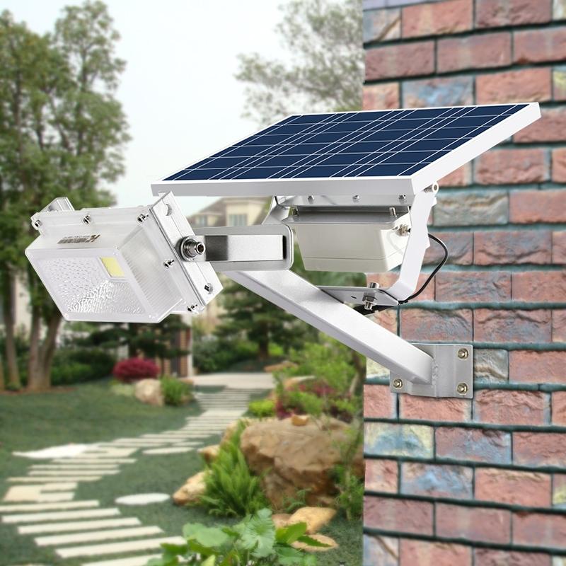 89.67$  Buy here - http://alirg7.worldwells.pw/go.php?t=32767894132 - Outdoor IP65 Waterproof 10W 15W Time Control Microwave Motion Sensor Flood Light Solar Street Light Garden Backyard Lamp 89.67$