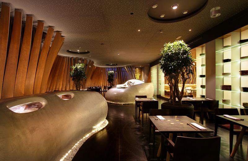 Sushi Bar Restaurant Interior Design Restaurant Design Restaurant Interior