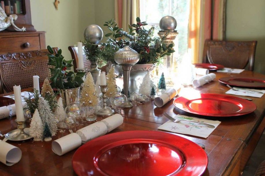 Christmas Table Decorations 2013 2013  Centerpiece For - christmas table decorations