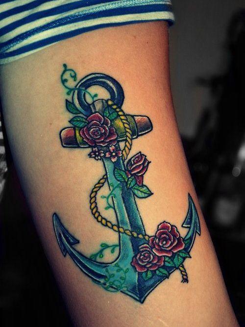 women anchor tattoo designs on tumblr Anchor Tattoo Designs ...