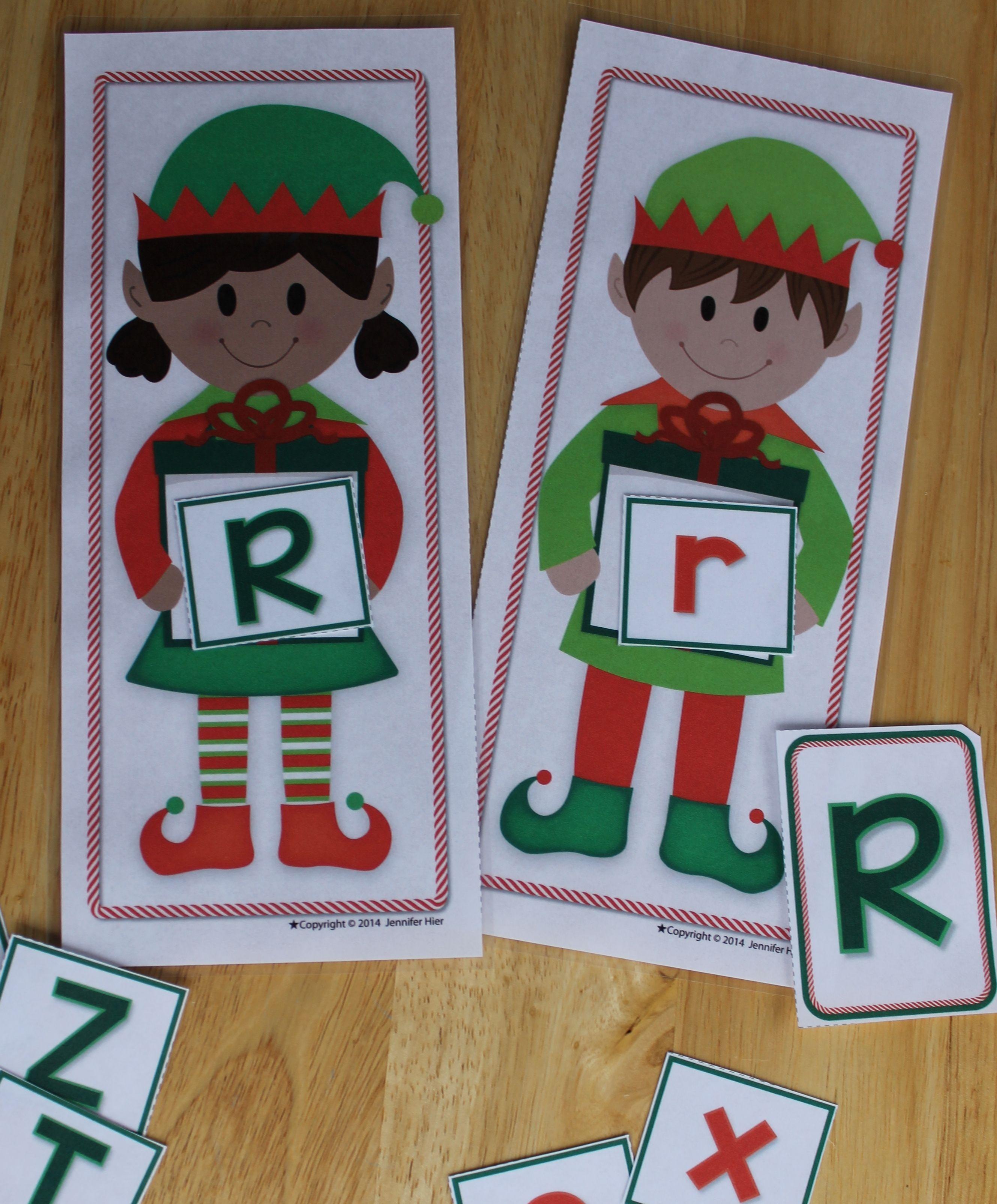 Elf On The Shelf Literacy Activities For Preschool And Pre