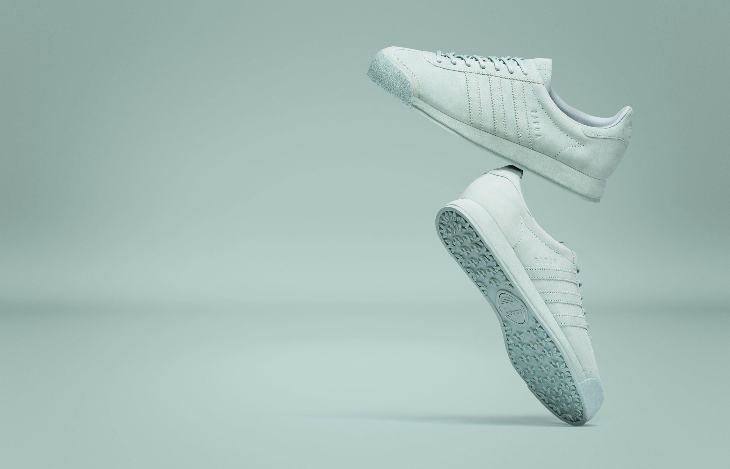 8ba030f607884 adidas Originals Elevates the Samoa With Two New Luxe Colorways - Freshness  Mag