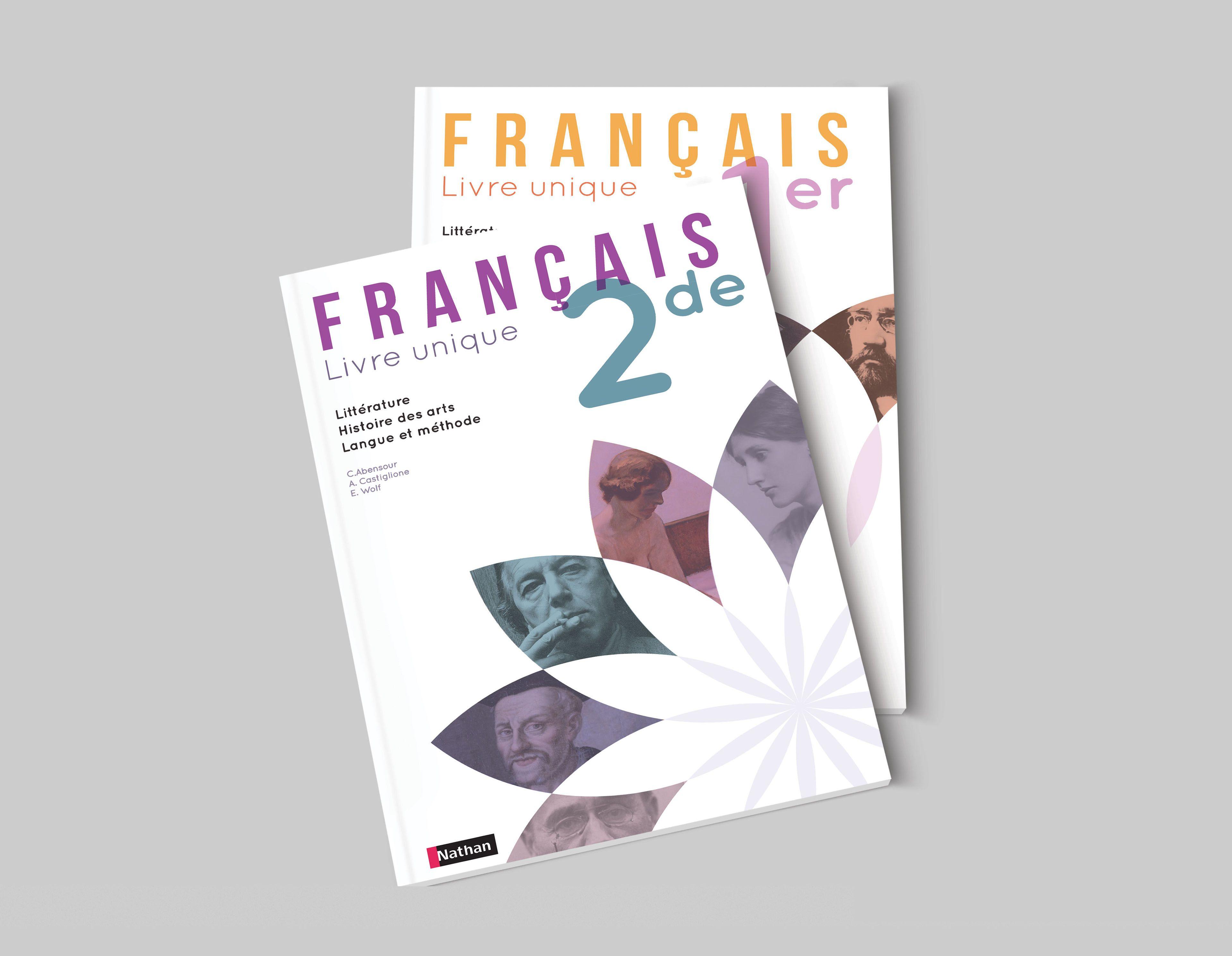 Proposition De Couvertures De Livres De Francais Editions