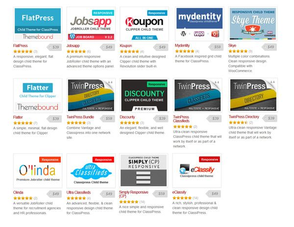 AppThemes Marketplace Child Themes Review #category | Marketplace ...