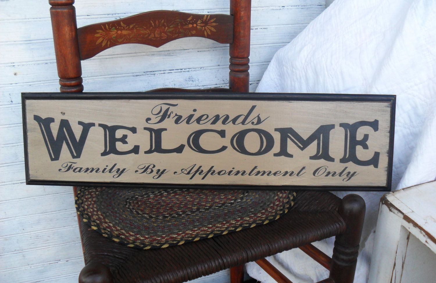 Friends Family by Appointment Only Humorous