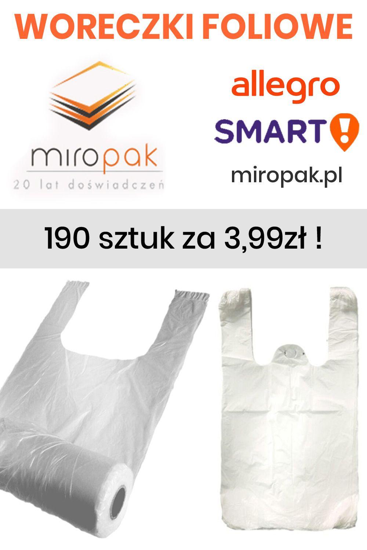 Reklamowki Torby Jednorazowe Na Rolce 190 Szt Allegro Person Smart