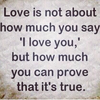 Actions Speak Louder Than Words Love Quotes Relationships