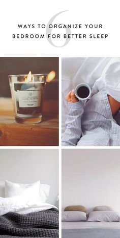 Try these tips to keep your bedroom optimized for better sleep. From scents to sheets, these tips will help you rest easy.