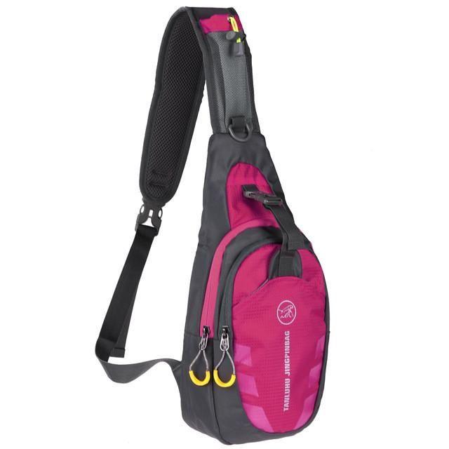 a055631a5aff 2017 Nylon Waterproof Men Female Chest Bag Functional Waist Bag ...
