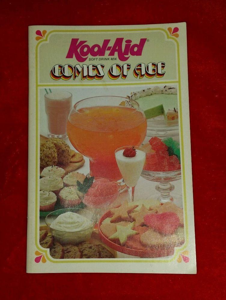 Very scarce vintage 1978 kool aid cookbook kool aid comes of age very scarce vintage 1978 kool aid cookbook kool aid comes of age general foods forumfinder Image collections