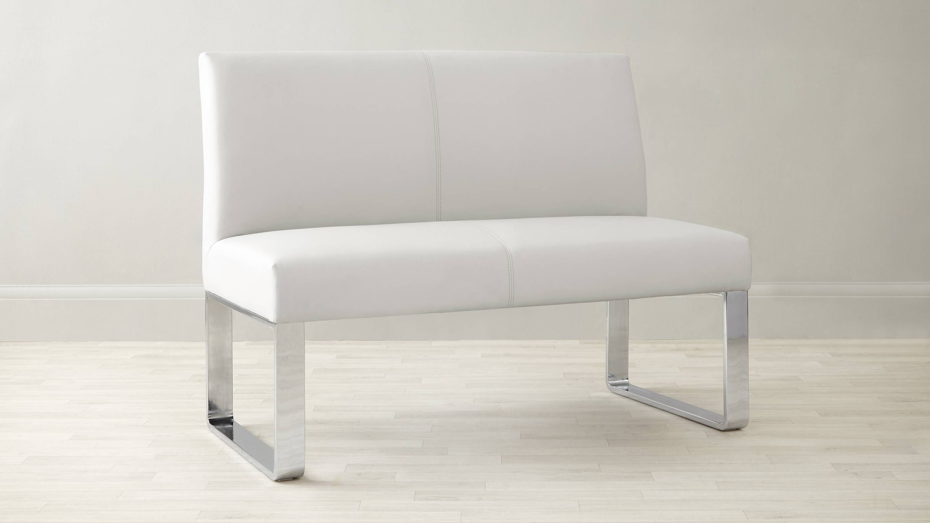 Loop 2 Seater Bench With Backrest