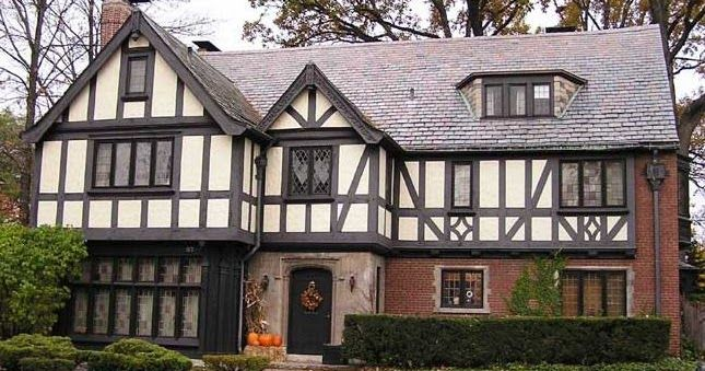 Tudor House Style Would Be Able For Creating Amazing Design With Wonderful Building Which Offers You Elegant Element In The Exterior Part Such As