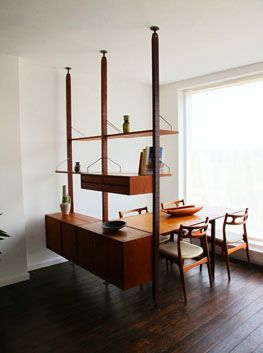 Roomdivider Danish Royal System.