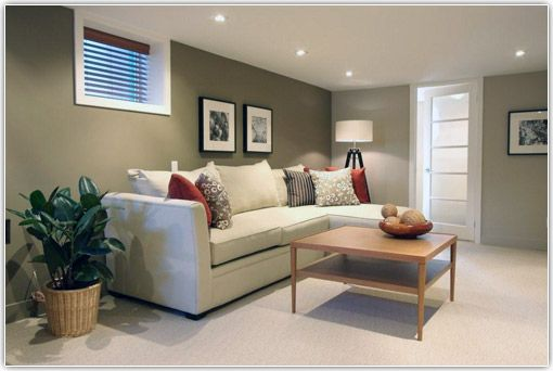 Basement color idea frame out glass block dream home - Glass block windows in living room ...