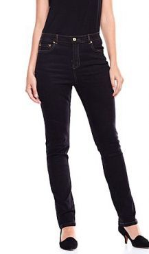 Diane Gilman Diane Gilman Fashion Stretch Skinny Jeans Trendy Tunic