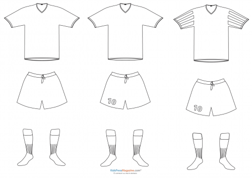 Color Your Own Paper Doll Clothes Soccer Jerseys Kidspressmagazine Com Free Coloring Pages Coloring Pages Paper Dolls