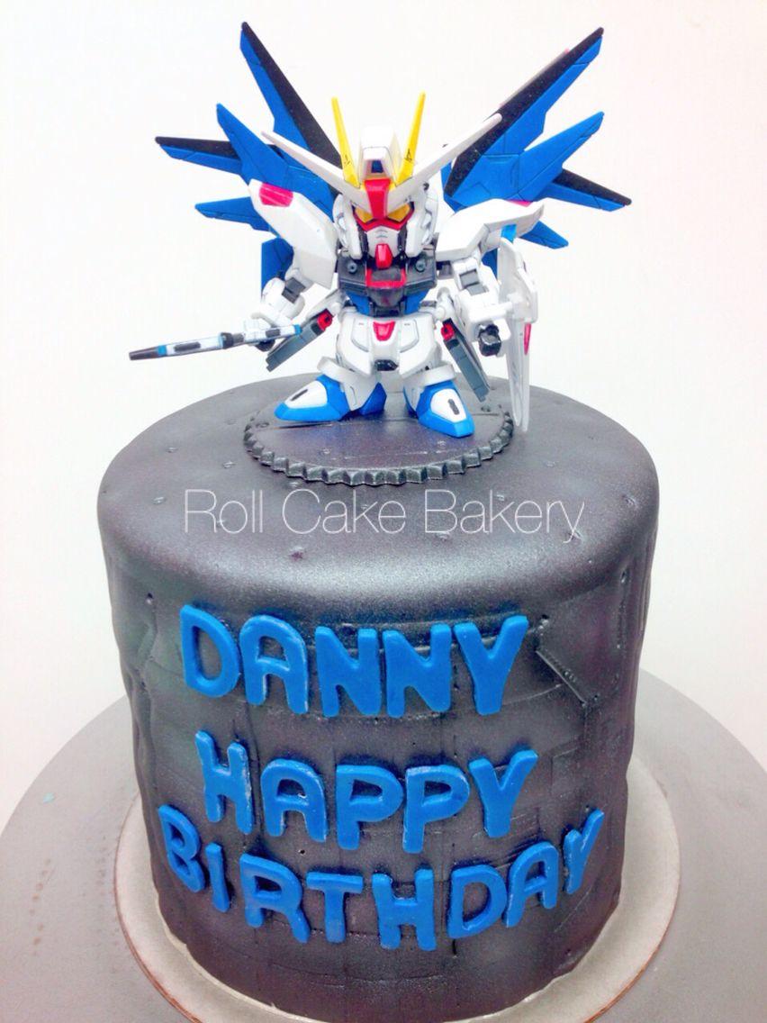 Gundam Cake Ideas Birthday Pinterest Gundam Cake Cake And Gundam