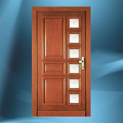 Puertas interiores carpinteriarquitectonica puerta ventanas corredizas pinterest - Puertas de entrada con cristal ...
