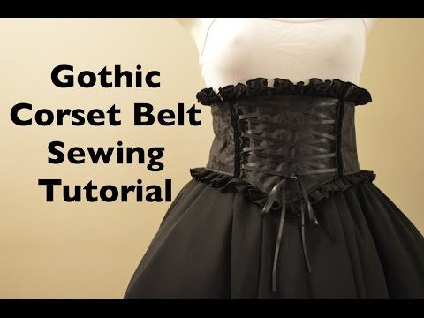 7c831a04a Cómo hacer CORSET cinturón estilo KIM KARDASHIAN - YouTube | costura ...