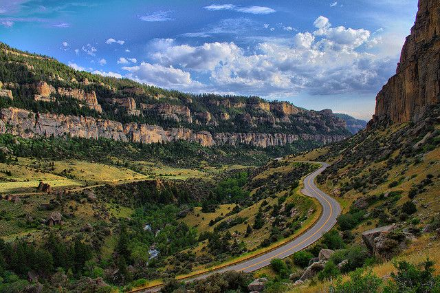 tensleep wyoming | Ten Sleep Canyon