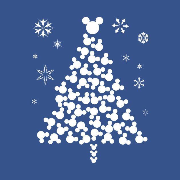 Check Out This Awesome Xmas Mickey Head Design On Teepublic Disney Christmas Tree Disney Christmas Diy Disney Christmas Decorations
