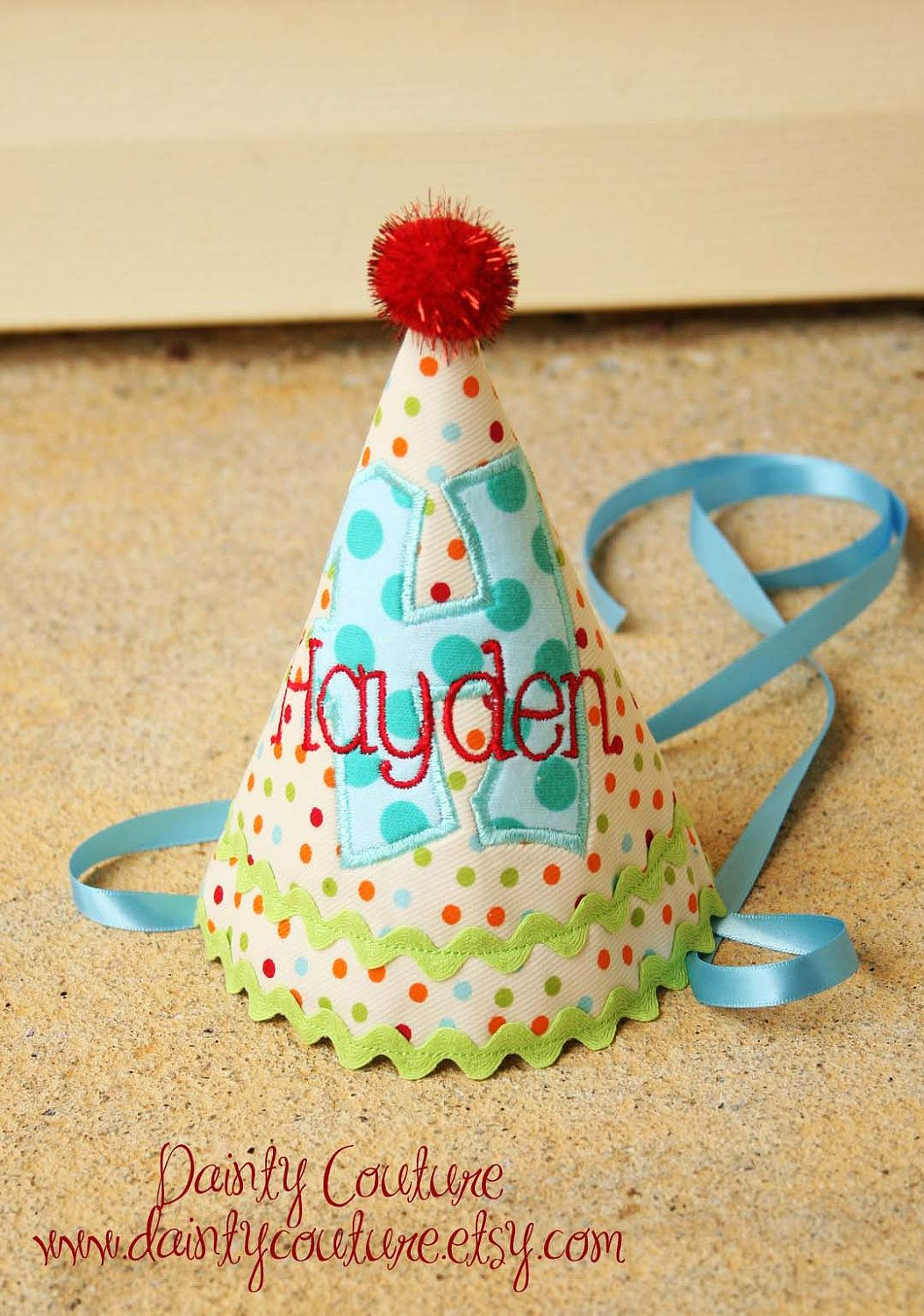 Boys Birthday Party HAT And BIB