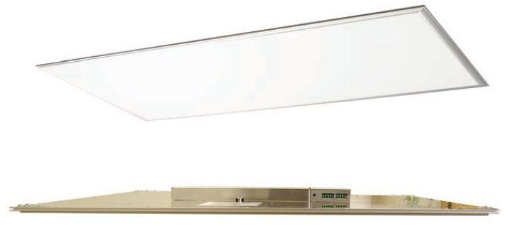 Maxlite Edge Lit 1 Feet X 4 Feet Led Flat Panel Fixture Warm Aluminum Finis Led Bathroom Lights Kitchen Led Lighting Light Fixtures Bathroom Vanity