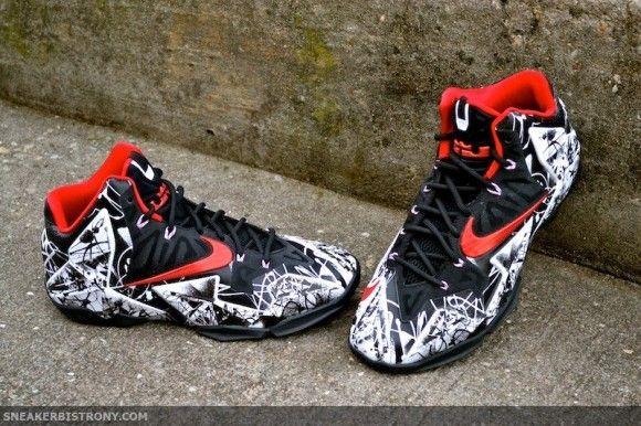 the best attitude 16a37 455e5 Nike LeBron 11 Graffiti Hitting Retailers
